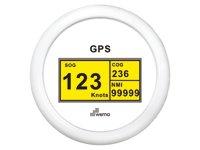 GPS-Speedo-Digital weiß